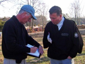 Brad Clayton & Rick Robbins design a custom putting green